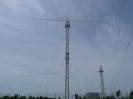 Podizanje prvih antena